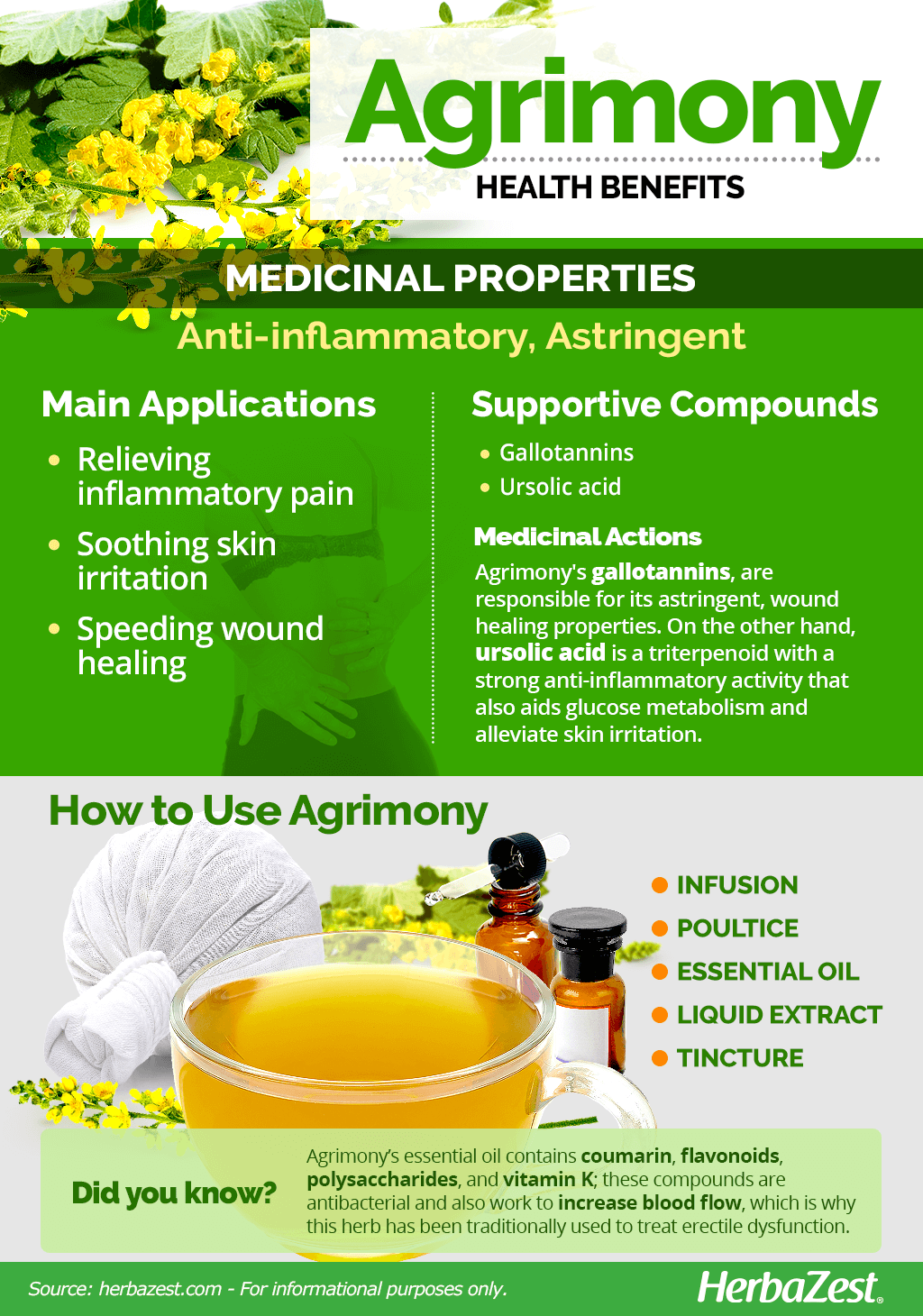 Agrimony Benefits