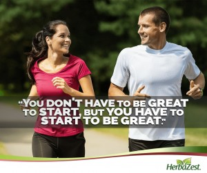 Quote: You Have to Start to Be Great