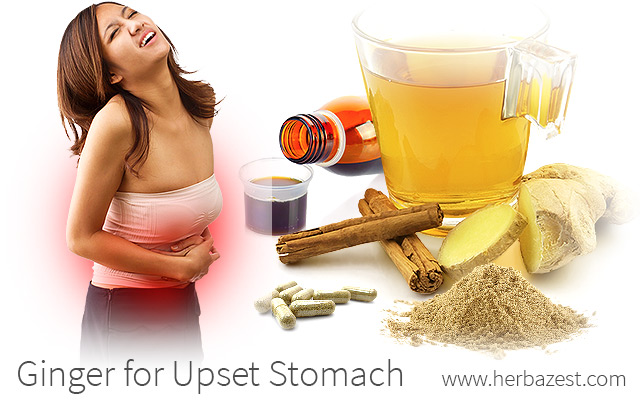 Ginger for Upset Stomach