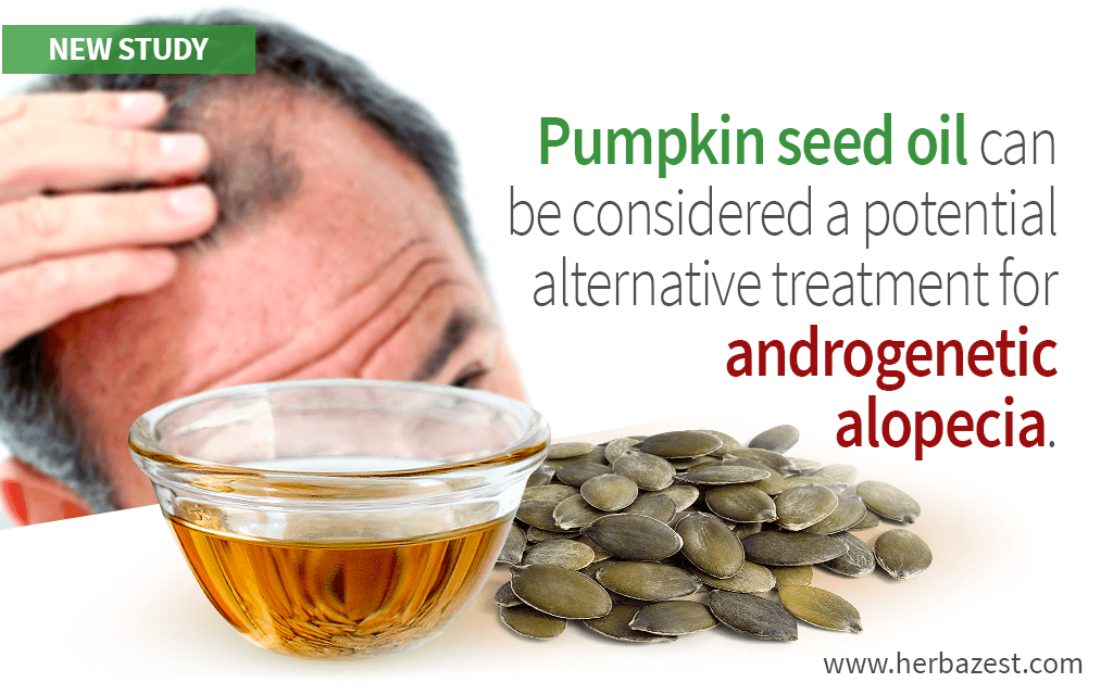 Pumpkin Seed Oil May Benefit Men with Androgenetic Alopecia