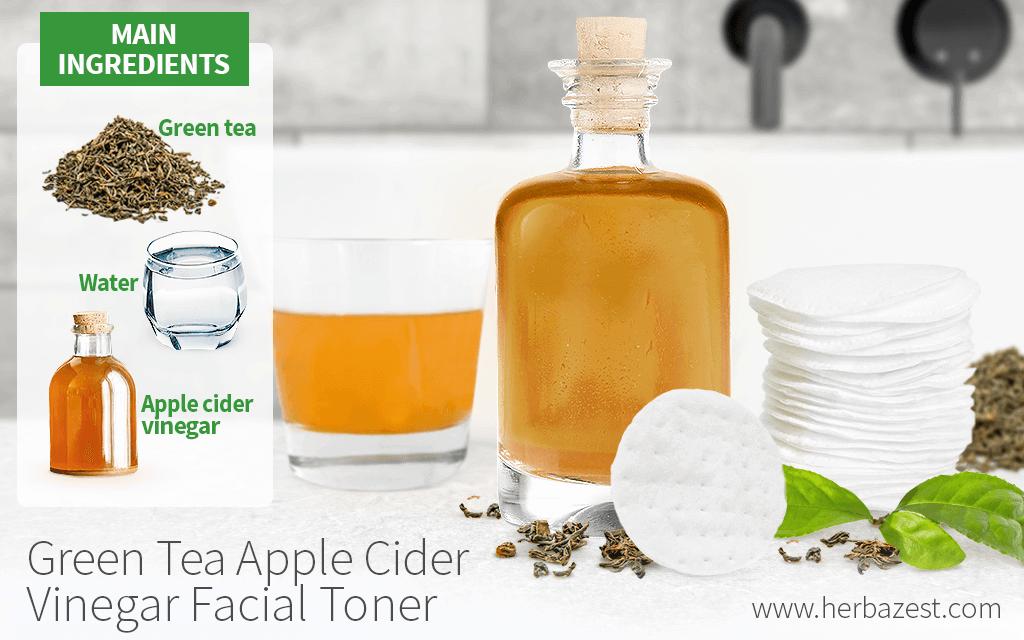 Green Tea Apple Cider Vinegar Facial Toner