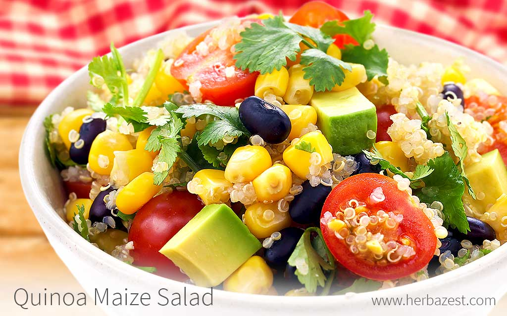 Quinoa Maize Salad