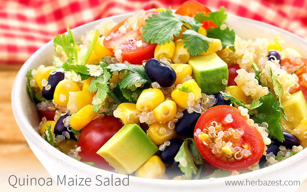 Quinoa Maize Salad
