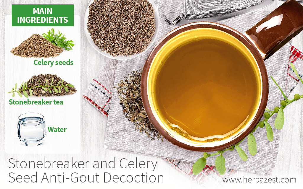 Stonebreaker and Celery Seed Anti-Gout Decoction
