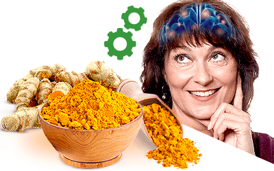 Turmeric's Curcumin Shown to Improve Brain Functions