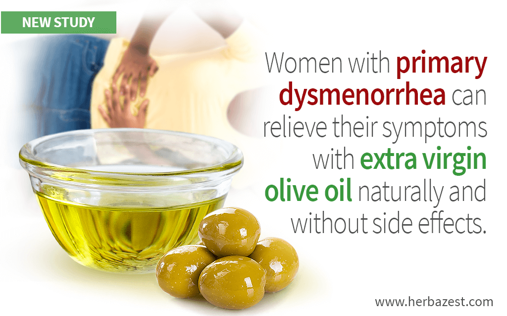 Olive Oil Can Reduce Painful Period Cramps Better Than Ibuprofen