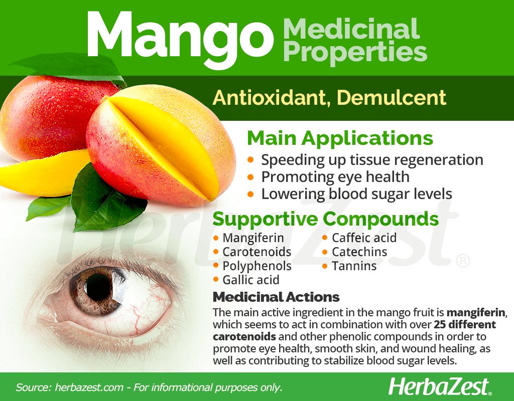 Mango Medicinal Properties