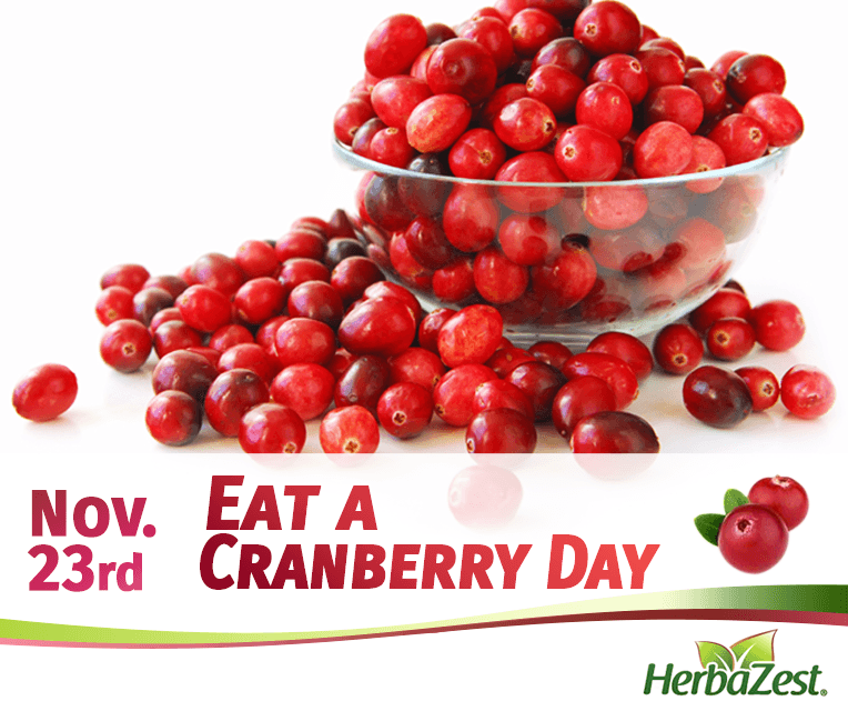 Special Date: Eat a Cranberry Day
