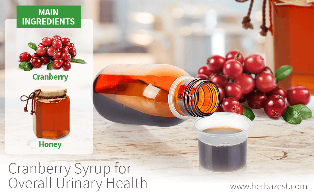 Cranberry Syrup for Overall Urinary Health