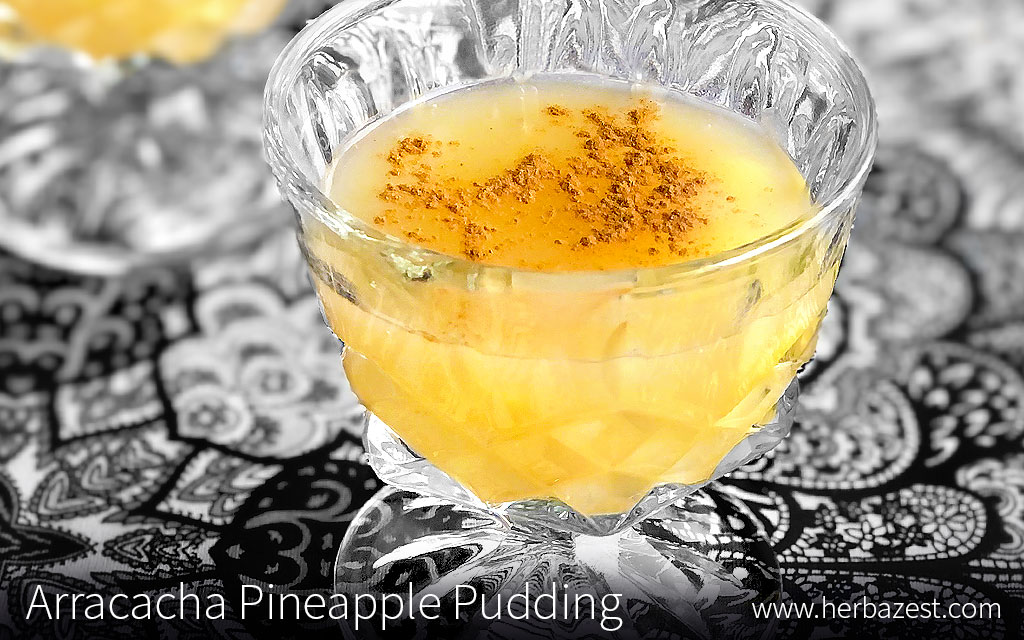 Arracacha Pineapple Pudding