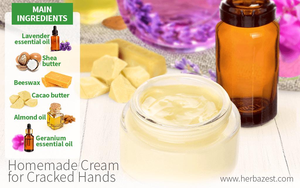 Homemade Cream for Cracked Hands