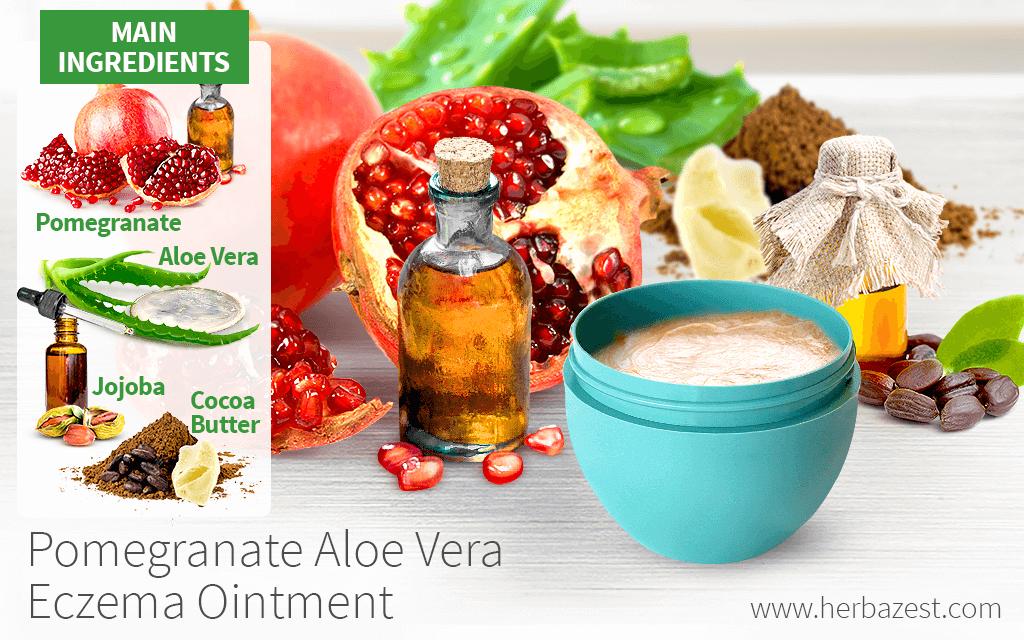Pomegranate Aloe Vera Eczema Ointment
