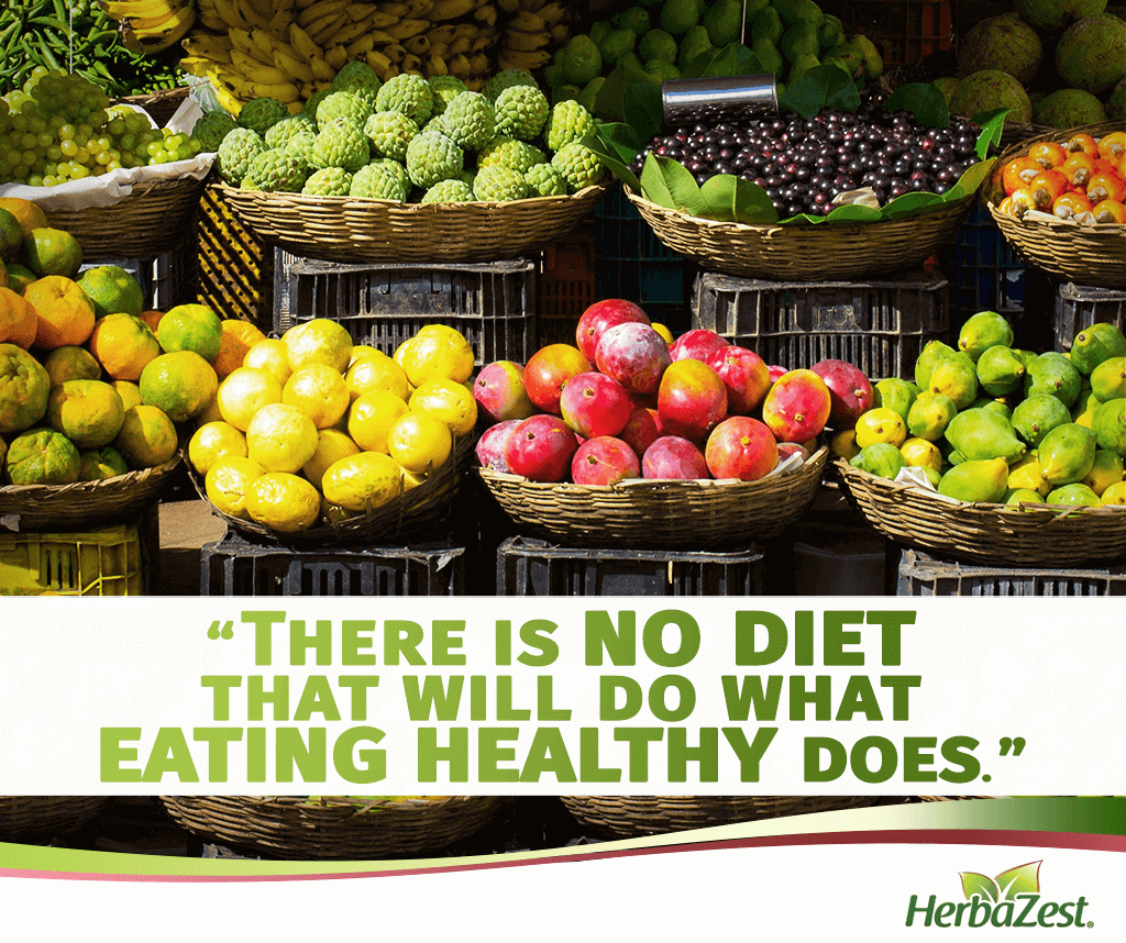 Quote: There is No Diet That Will Do What Eating Healthy Does