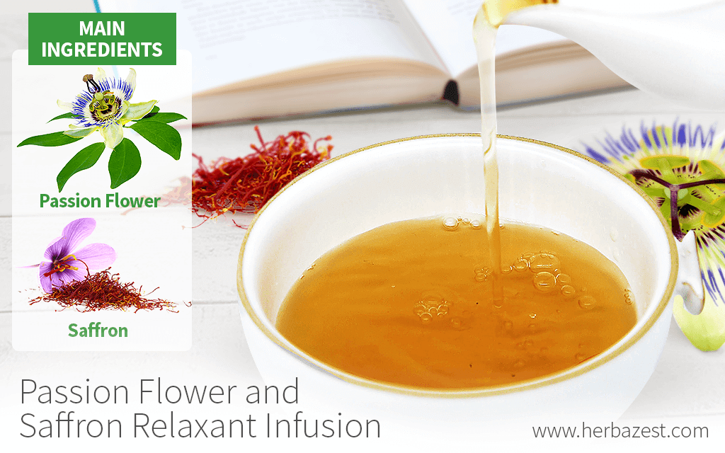 Passion Flower and Saffron Relaxant Infusion