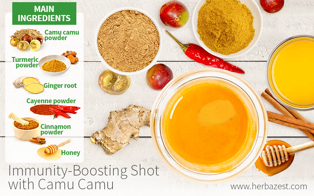 Immunity-Boosting Shot with Camu Camu