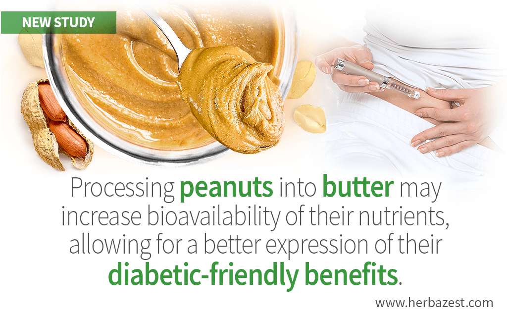 Peanut Butter Added to Breakfast Meals Can Benefit Diabetic Adults