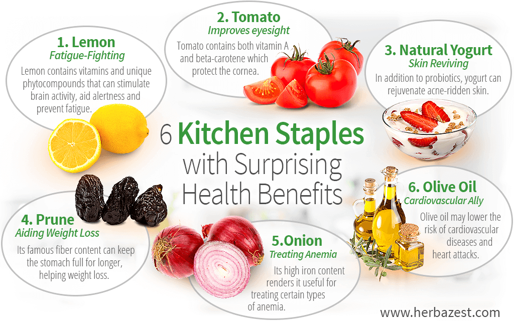 6 Kitchen Staples with Surprising Health Benefits