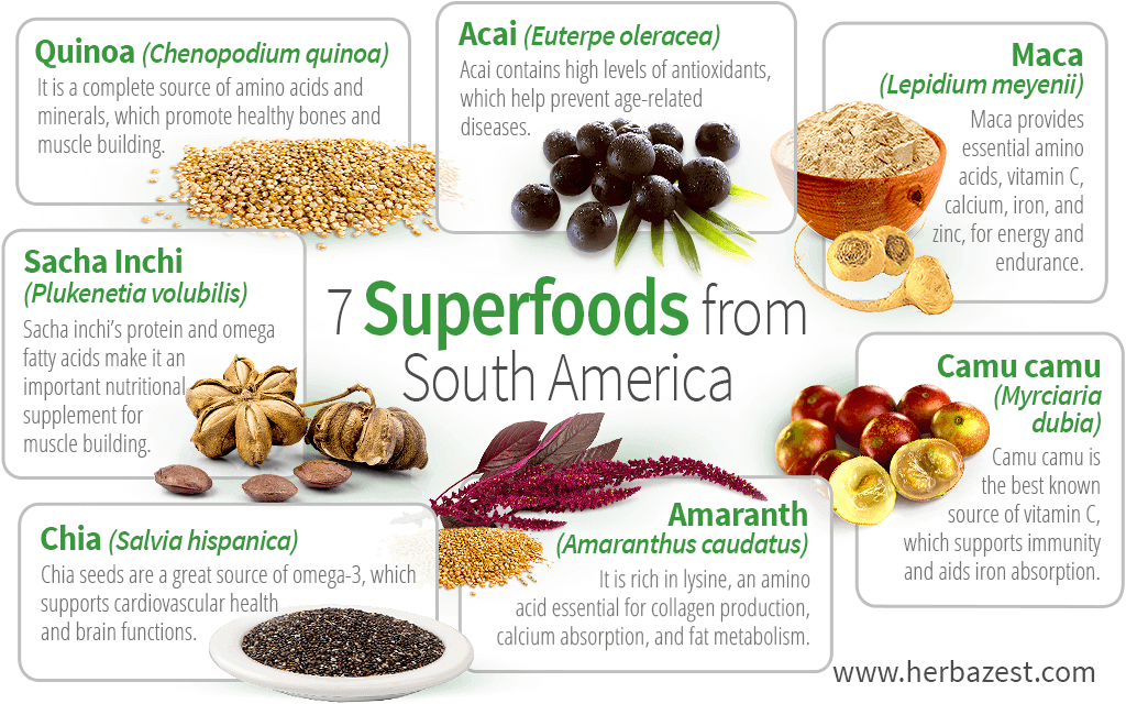 7 Superfoods from South America