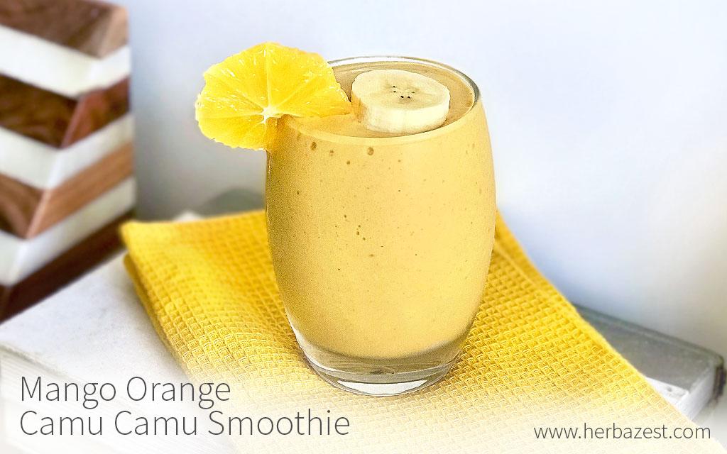 Mango Orange Camu Camu Smoothie