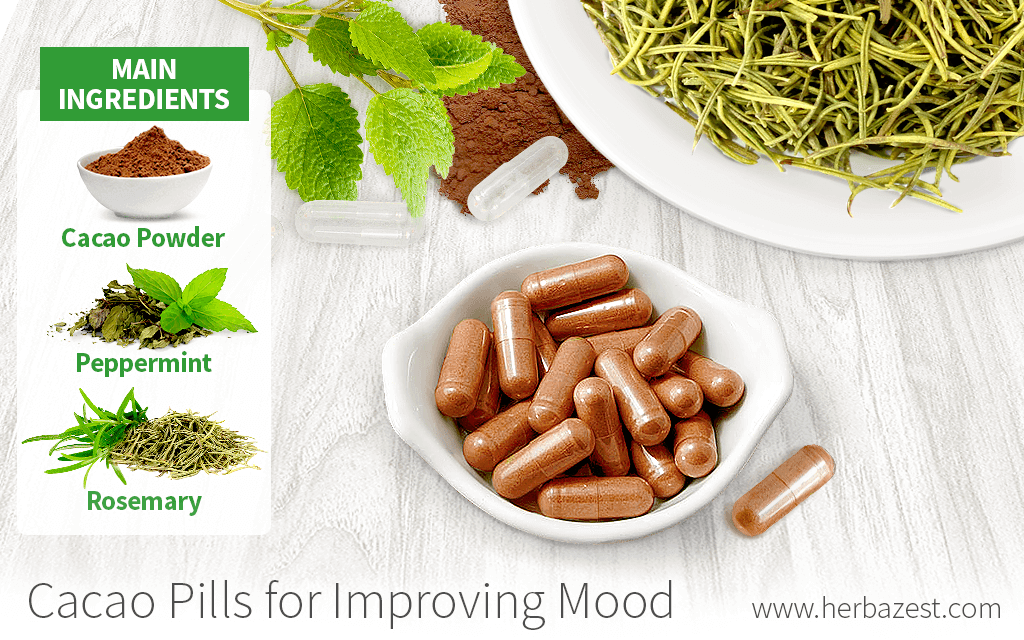 Cacao Pills for Improving Mood
