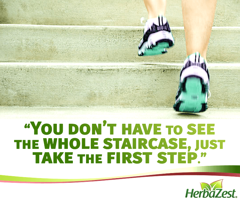Quote: Just Take the First Step