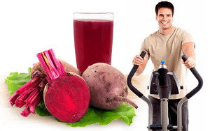 The study shows that beetroot juice is a good source of nitrates for training without undesirable side effects.