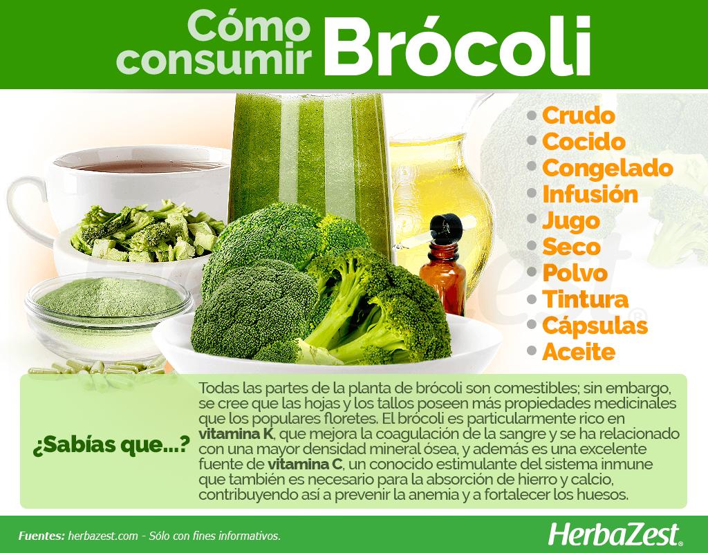 Cómo consumir brócoli