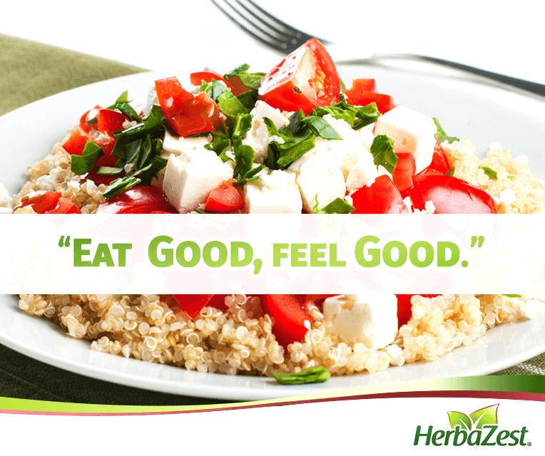 Quote: Eat Good, Feel Good