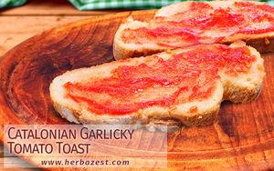 Catalonian Garlicky Tomato Toast