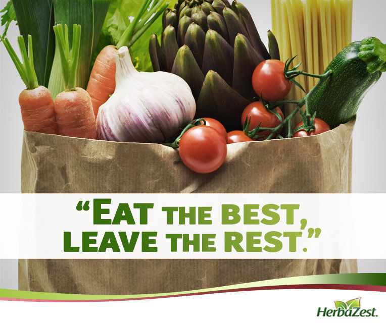 Quote: Eat the Best, Leave the Rest