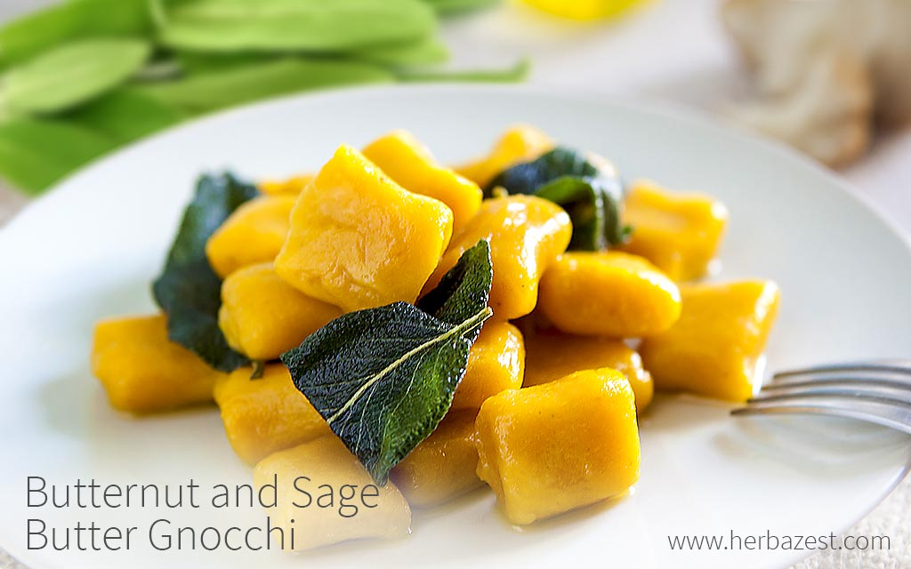 Butternut and Sage Butter Gnocchi