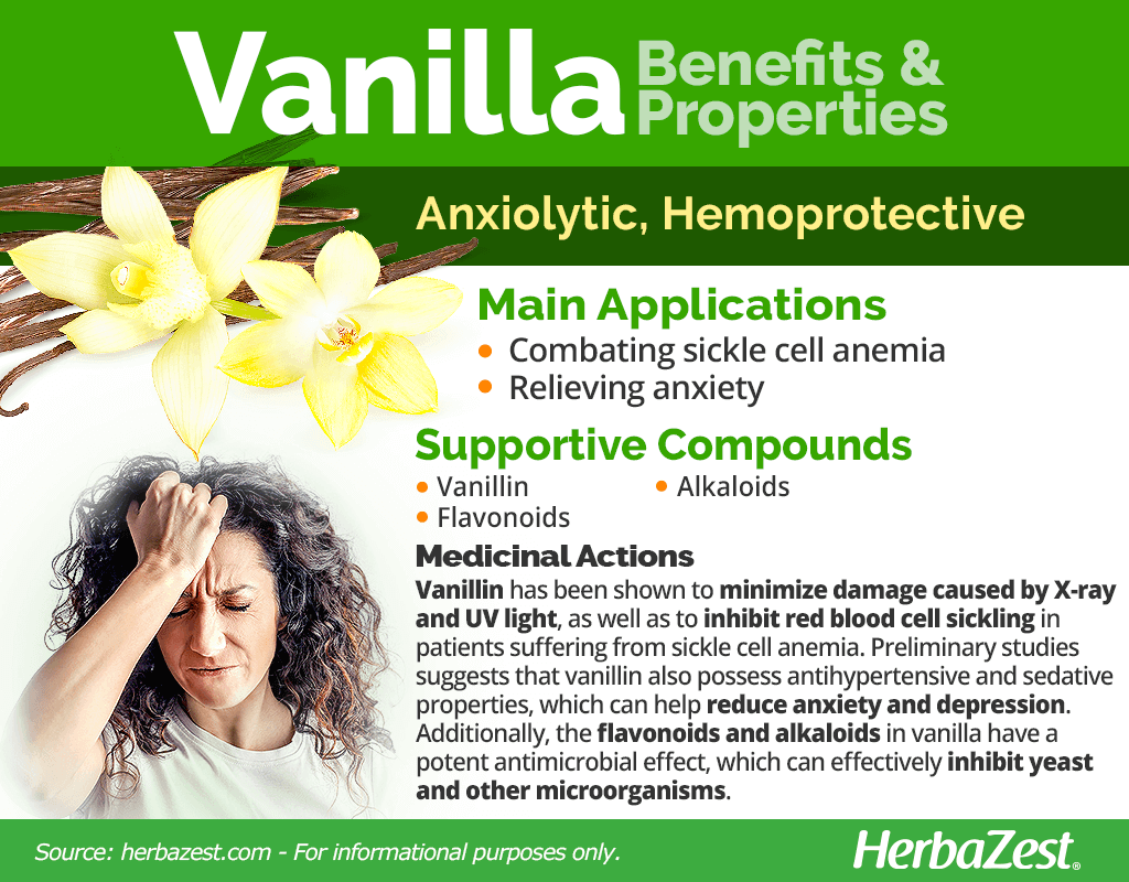 Vanilla Benefits and Properties