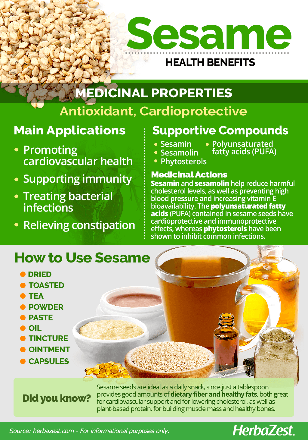 All About Sesame