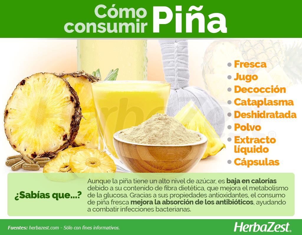 Cómo consumir piña