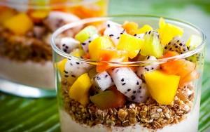 Tropical Fruit Parfait