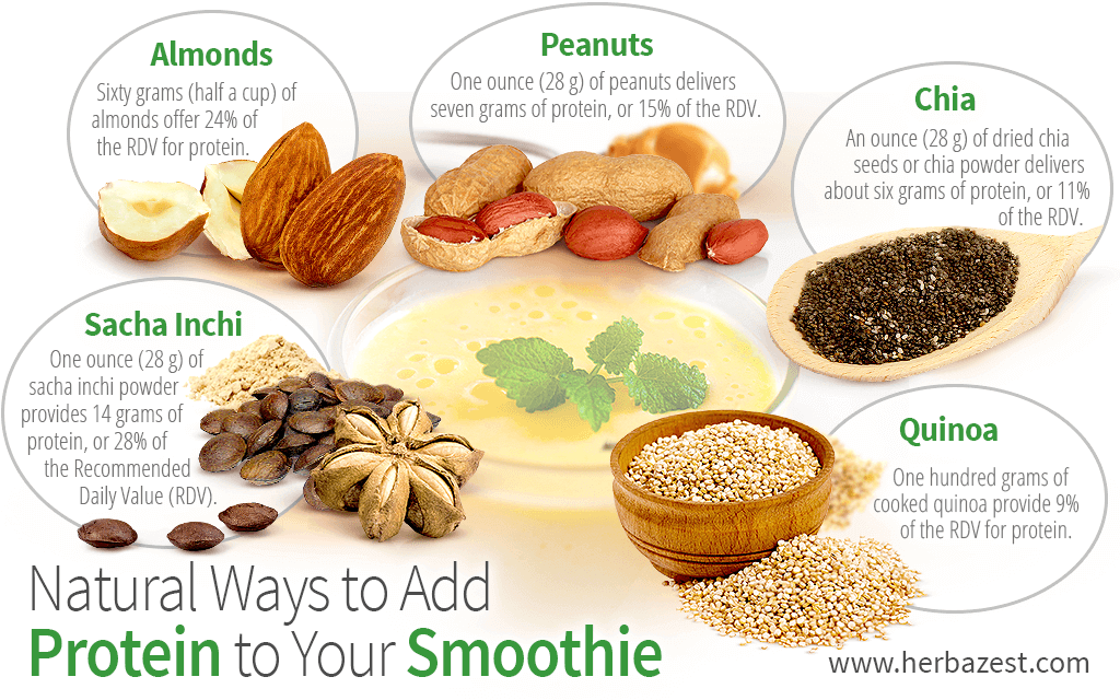 Natural Ways to Add Protein to Your Smoothie