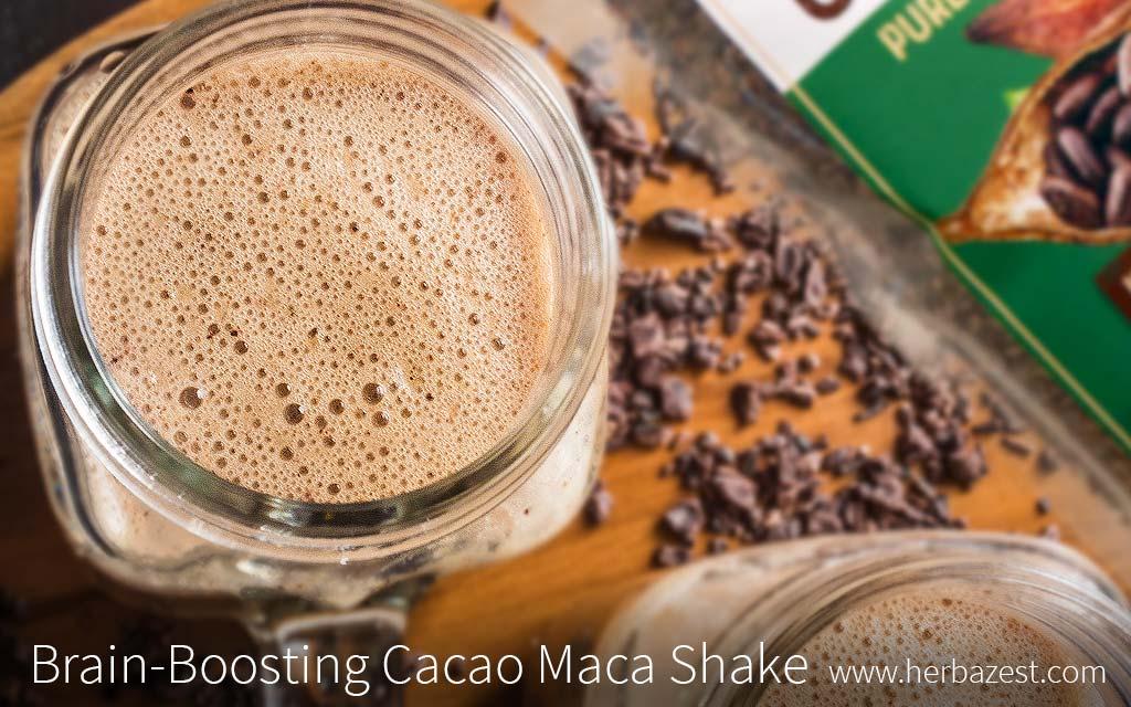 Brain-Boosting Cacao Maca Shake