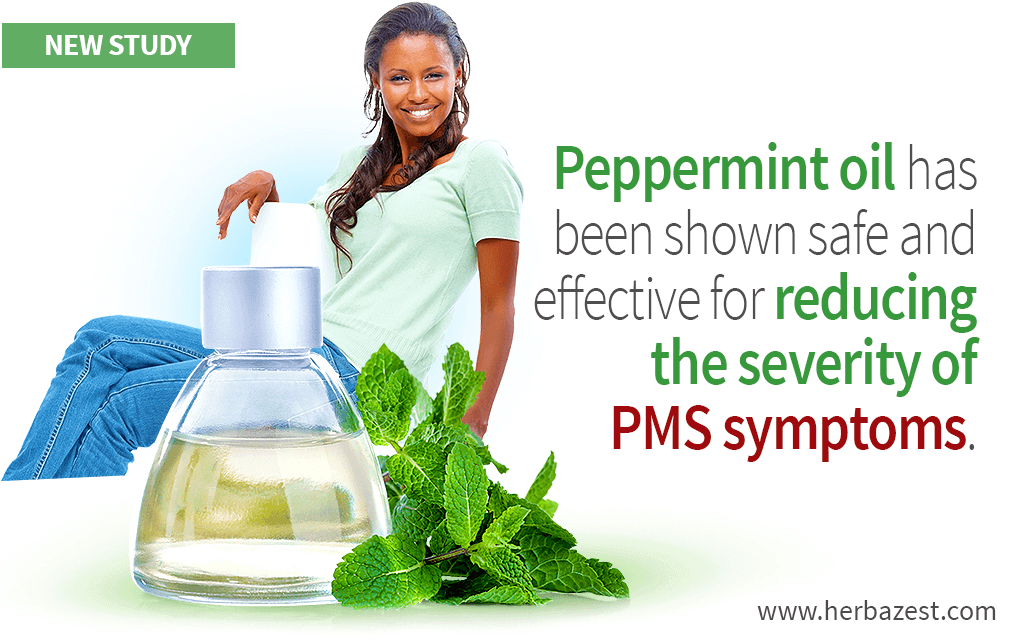 Peppermint Oil Shown to Relieve PMS Symptoms