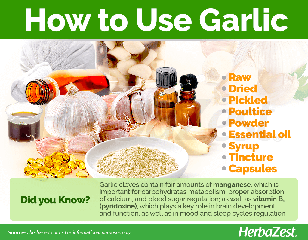 Garlic How to Use