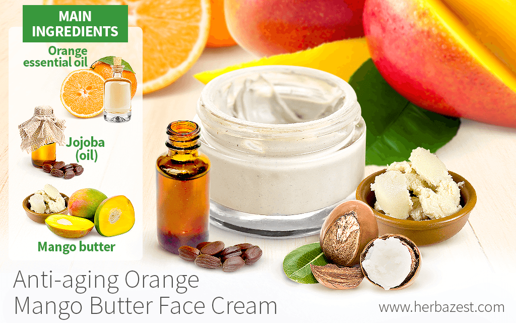 Anti-aging Orange Mango Butter Face Cream