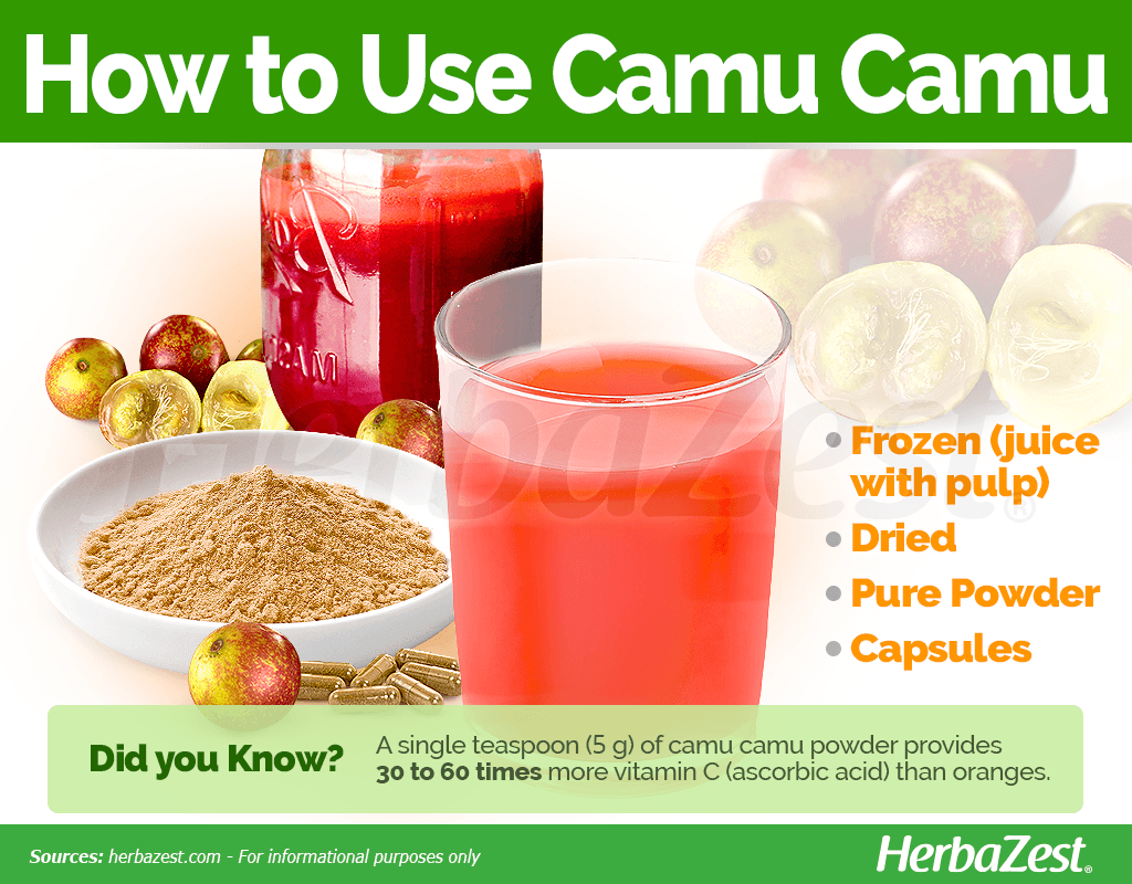 How to Use Camu Camu