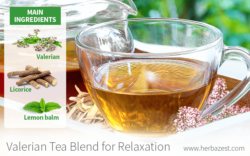 Valerian Tea Blend for Relaxation