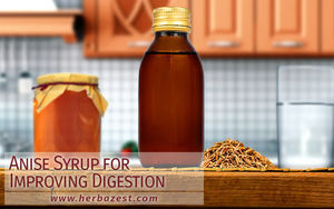 Anise Syrup for Improving Digestion