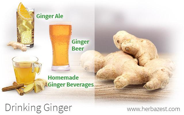 Drinking Ginger