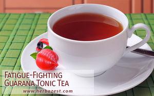 Fatigue-Fighting Guarana Tonic Tea