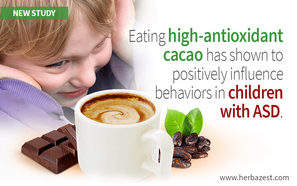 High Antioxidant Cacao May Benefit Children with Autism