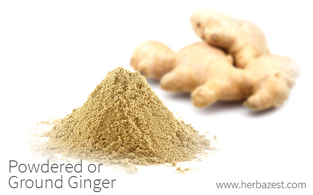 Powdered or Ground Ginger