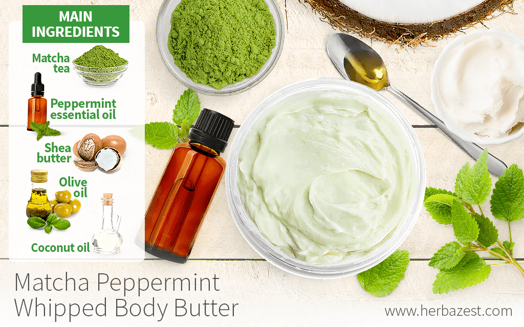Matcha Peppermint Whipped Body Butter