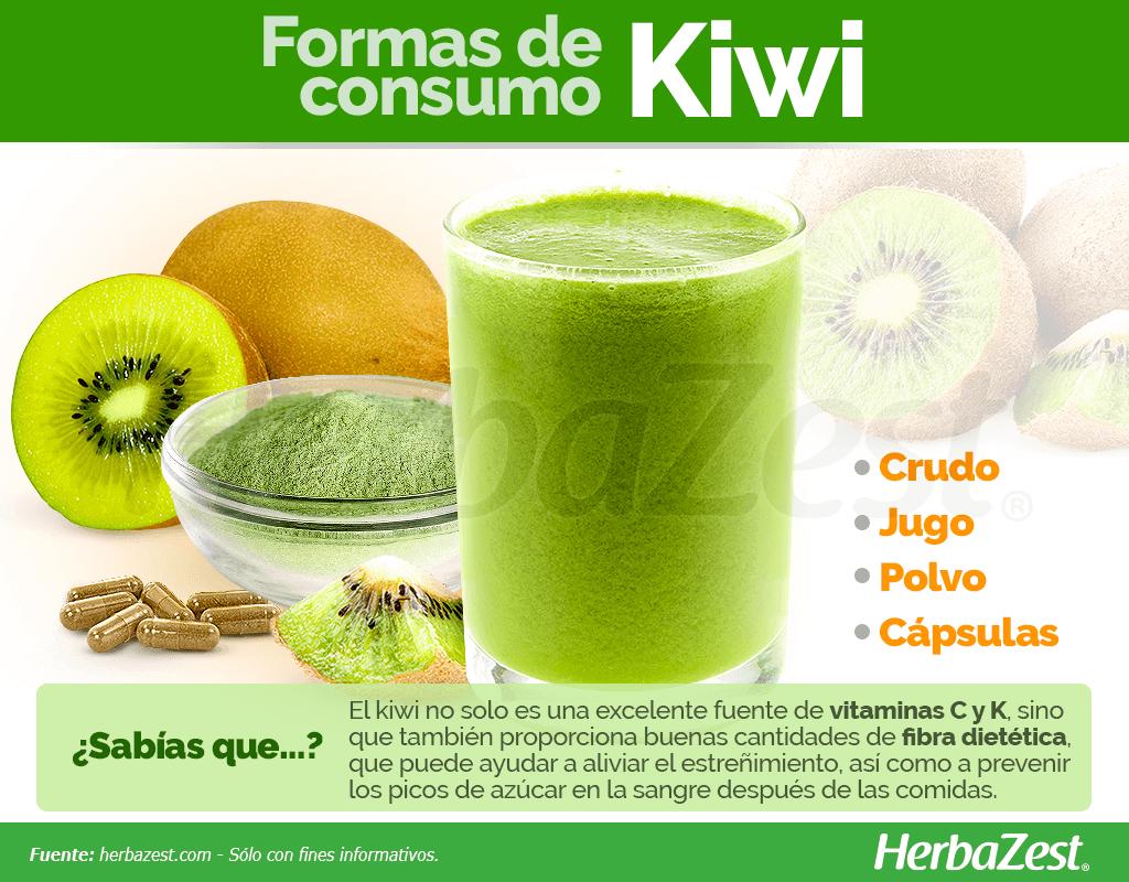 Cómo consumir kiwi