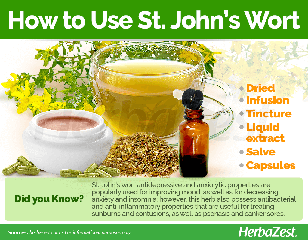 How to Use St. John's Wort